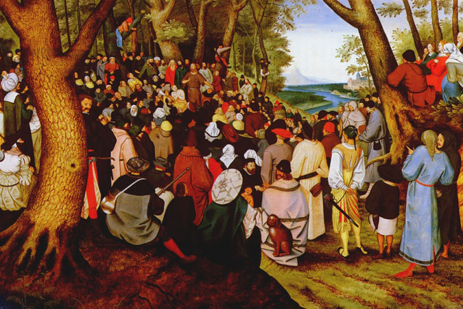 Pieter Brueghel the Younger - St. John the Baptist Preaching