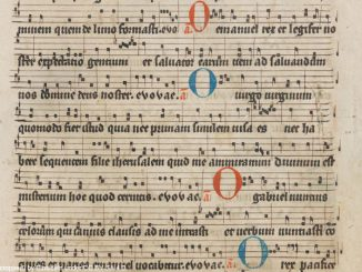 O Come Emmanuel - By Einsideln (http://www.e-codices.unifr.ch/en/list/one/sbe/0611) [CC BY-SA 4.0 (https://creativecommons.org/licenses/by-sa/4.0)], via Wikimedia Commons