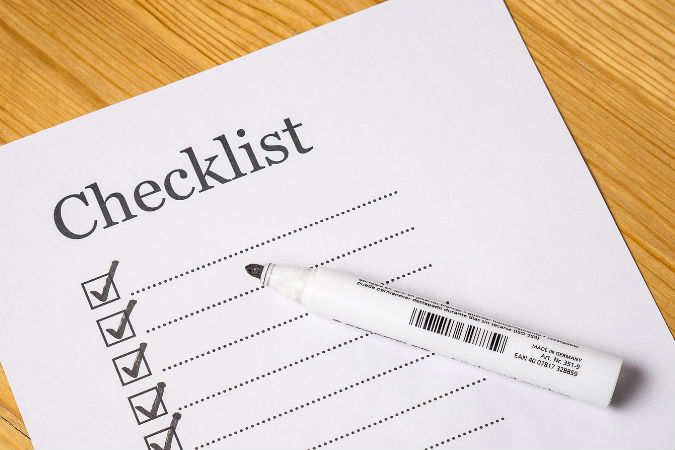 Image result for make a checklist