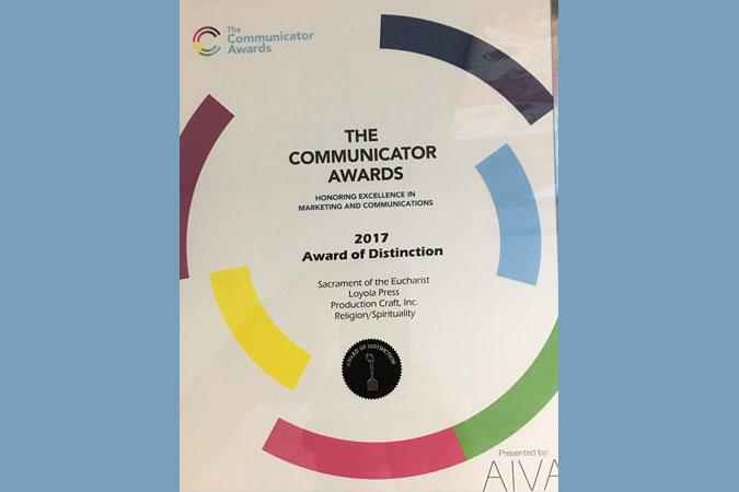 communicator award for loyola press eucharist video