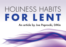 Holiness Habits for Lent