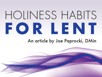 Holiness Habits for Lent by Joe Paprocki