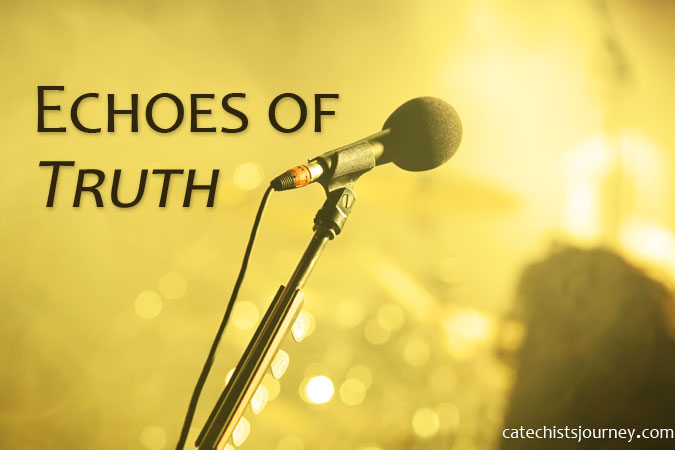 Catechists as Echoes of Truth - microphone image