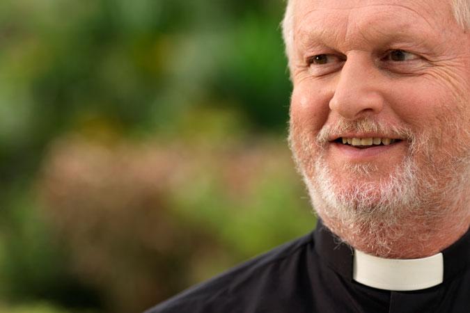 priest close-up