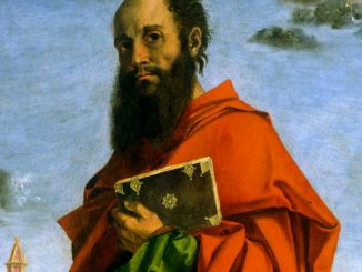 Saint Paul by Bartolomeo Montagna (cropped)