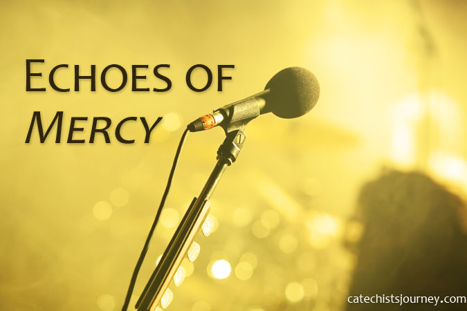 Catechists as Echoes of Mercy - microphone image