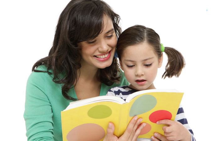 reading story together