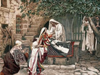 Jesus raises daughter of Jairus