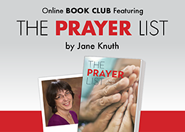 Online Book Club - The Prayer List by Jane Knuth