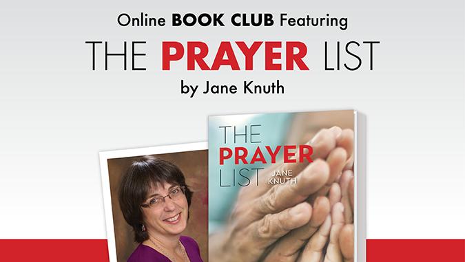 The Prayer List by Jane Knuth - online book club