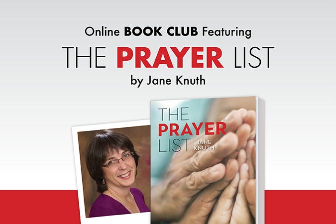 The Prayer List by Jane Knuth - online book club