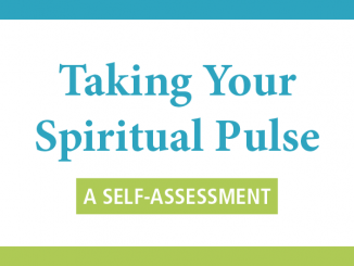 Taking Your Spiritual Pulse quiz