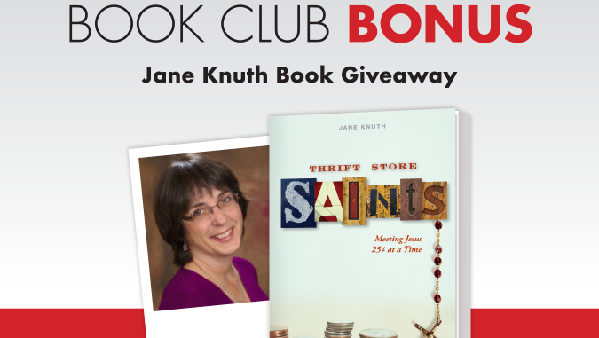 Jane Knuth Book Giveaway