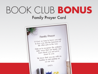 Book Club Bonus: Family Prayer Card