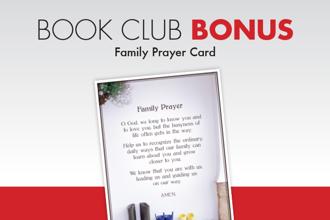 Book Club Bonus: Family Prayer Card