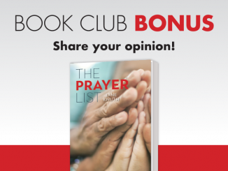 Book Club Bonus - Share your opinion