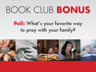 Book Club Poll - favorite way to pray