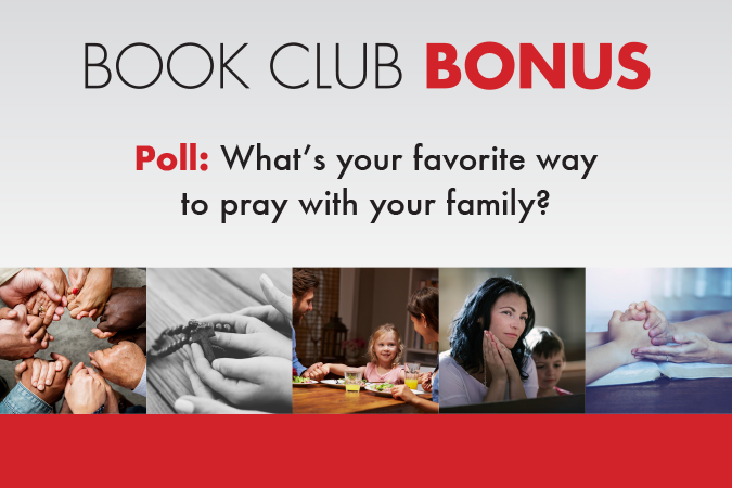 Book Club Poll - favorite way to pray