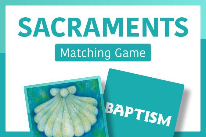 Sacraments Matching Game
