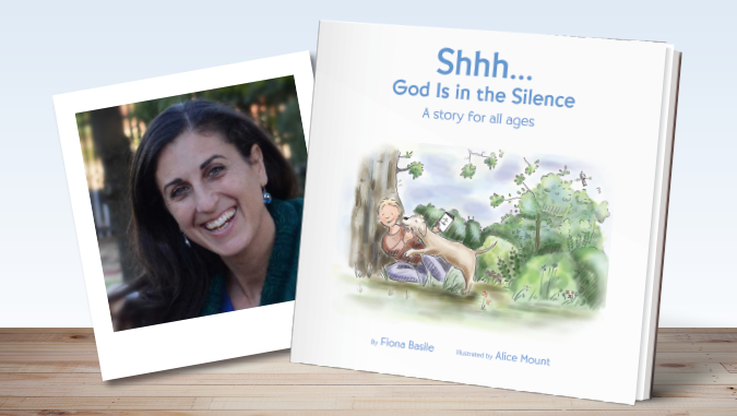 Shhh...God Is in the Silence by Fiona Basile