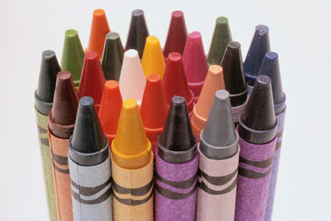 coloring - crayons