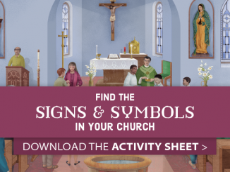 Find the Signs and Symbols in Your Church Activity Sheet