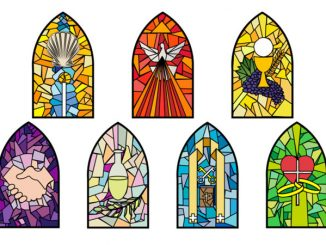 symbols of the Seven Sacraments