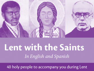 Lent with the Saints - 40 holy people to accompany you during Lent - Pierre Toussaint, Kateri Tekakwitha, Maximilian Kolbe pictured