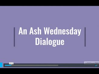 Ash Wednesday Dialogue - video screenshot