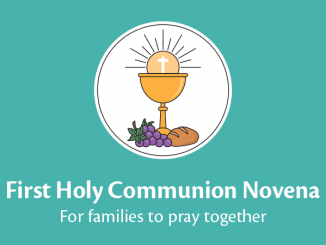 First Holy Communion Novena booklet