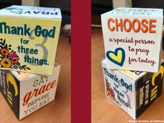 prayer cubes - image courtesy of Kathleen Butler