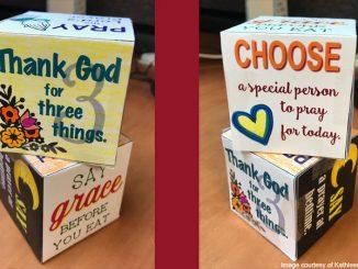 prayer cubes - image courtesy of Kathleen Butler