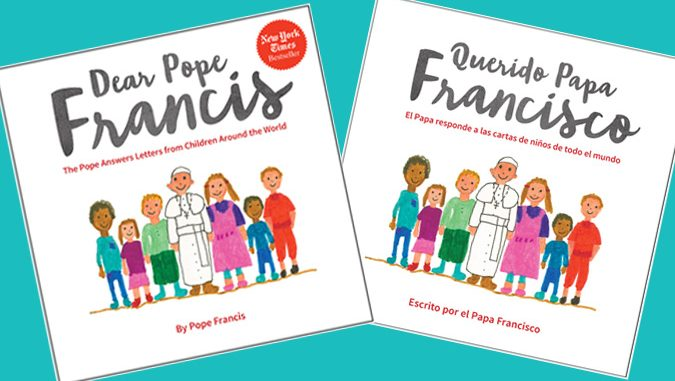 Dear Pope Francis covers in English and Spanish