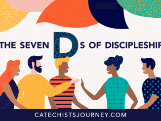 The Seven Ds of Discipleship - illustration of people talking