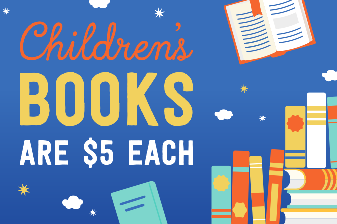 Children's Books $5 Each
