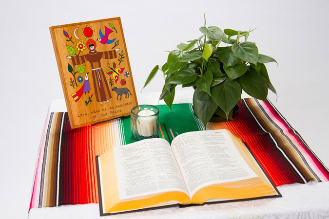 prayer table - © Loyola Press. All rights reserved.