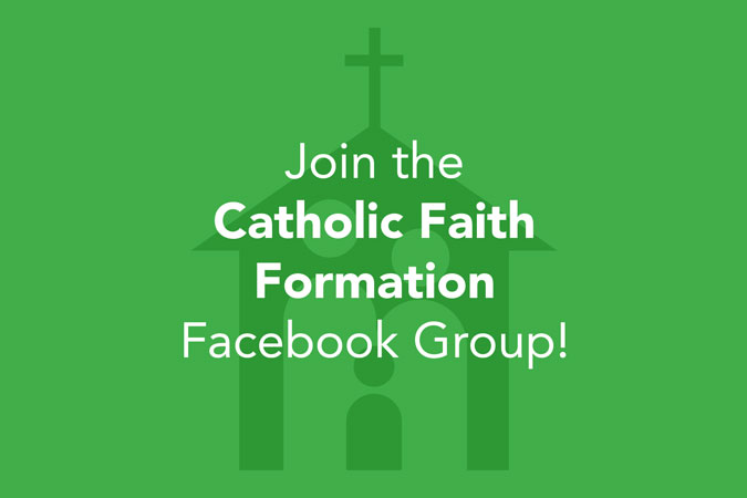 Catholic Faith Formation Facebook Group