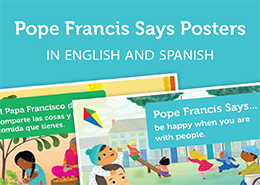 Pope Francis Says Posters