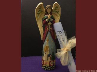 Advent Angel - image courtesy of Cindy Coleman