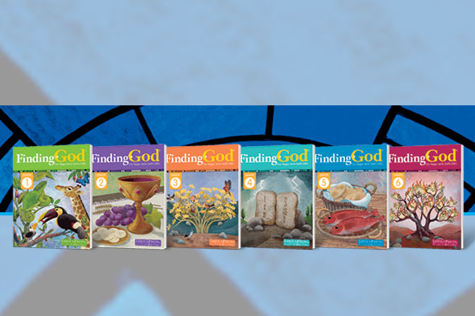 Finding God: Our Response to God's Gifts 2021 edition covers