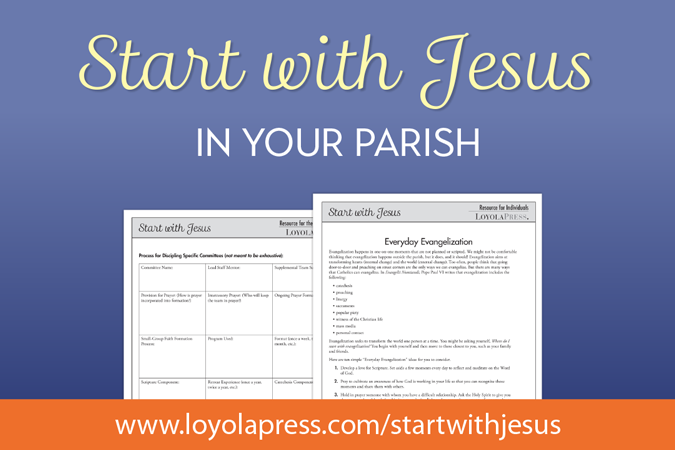 Start with Jesus in Your Parish - book resources