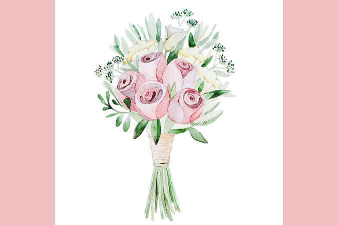 flower bouquet illustration