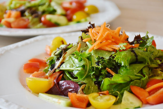 healthy salad - image by RitaE from Pixabay