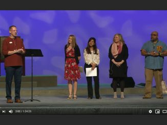 Start with Jesus presentation panel - L.A. Congress 2020 - video screenshot