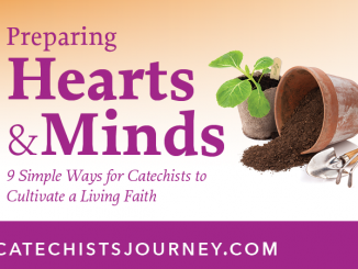 Preparing Hearts and Minds: 9 Simple Ways for Catechists to Cultivate a Living Faith - blog series based on book of same title