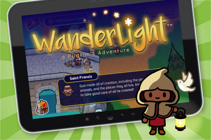 Wanderlight Catholic video game