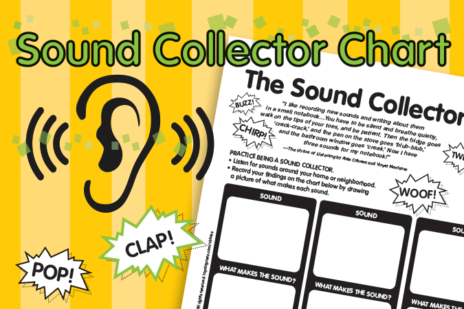 Sound Collector Chart - downloadable activity