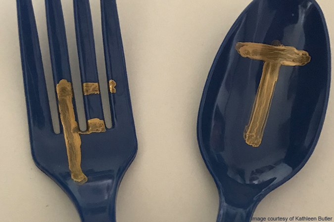 true and false fork and teaspoon - image courtesy of Kathleen Butler