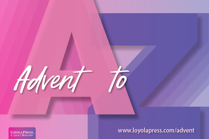 Advent A to Z e-mail series