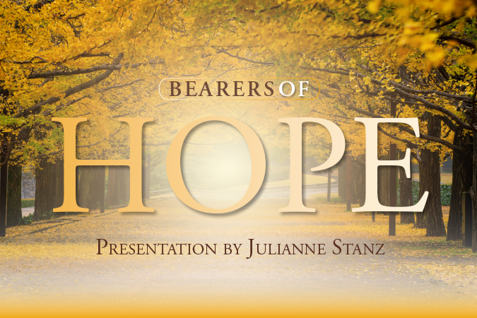 Bearers of Hope presentation by Juliane Stanz - presentation cover image